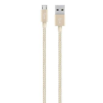 Belkin MIXIT 1.2 Meters 4-Foot Charge Sync USB to Micro USB Braided Cable