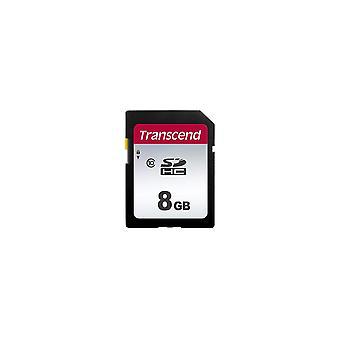 Transcend ts8gsdc300s 300s sdhc class 10 uhs-i u1 v30 8 gb 300s 95mb/s standard packaging