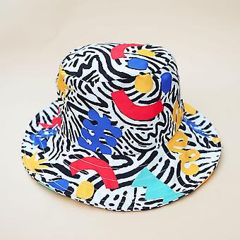 Multicolour Wide Bucket Hat