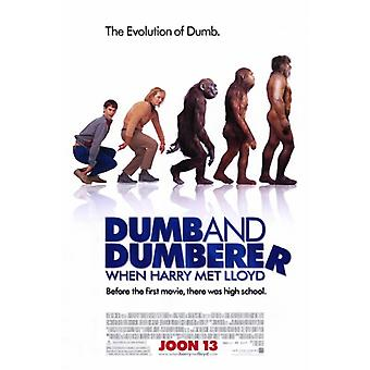When Harry Met Lloyd Dumb and Dumberer Movie Poster Print (27 x 40)