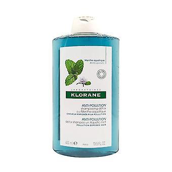 Avgiftning schampo med vattenmynta 400 ml
