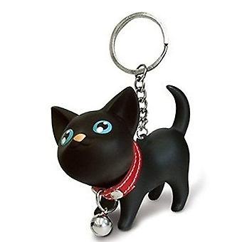 Portachiavi in plastica a forma di gattino Pendente