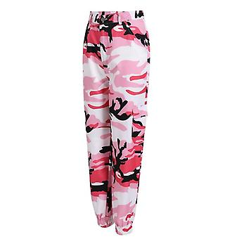 Camouflage Hip-pop Broek, Women Sweatpants - Broek Cargo Harem Pants