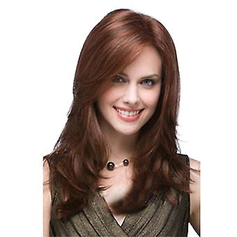 Women Wig Wig Fashion Lady Side Bangs Medium Long Hair Synthetic Wigs