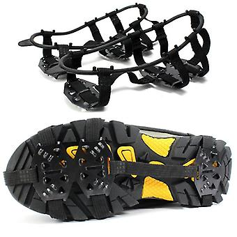 1 Paar 24 Tanden Ice Snow Shoe Spikes Grips Cleats Crampons Anti Slip Hiking