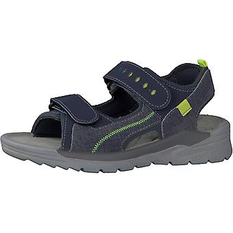 RICOSTA Washable Sandal Blue Grey
