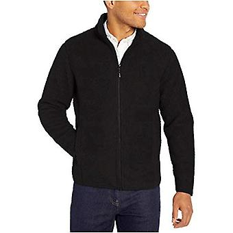 Essentials Men's Sherpa Fleece Full-Zip Takki