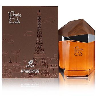 Paris Oud Eau De Parfum Spray Por Afnan 3.4 oz Eau De Parfum Spray
