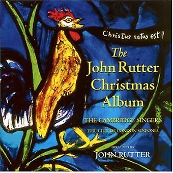 John Rutter - John Rutter julalbum (Cambridge sångare) (Musik-CD)