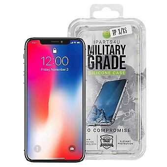 iParts4u Military Grade Silicone Case - iPhone 11 Pro Max - Clear