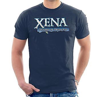 Xena Warrior Princess Blue Logo Men's T-Shirt
