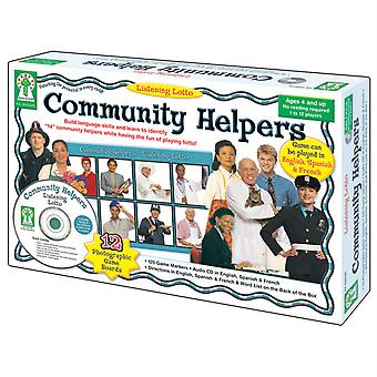 Escuchar Lotto: Community Helpers Board Game