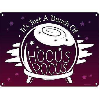 Grindstore Its Just A Bunch Of Hocus Pocus Mini Plaque
