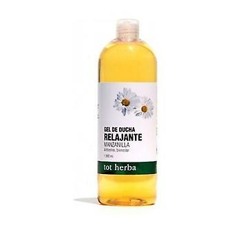 Relaxing Camomile Shower Gel 1 L of gel
