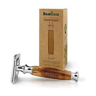 Bamboo handle razor 1 unit