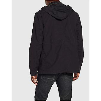 Essentials Men's Utility Giacca, Nero, XX-Large