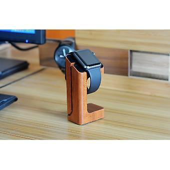 Support en bois pour chargeur Apple Watch