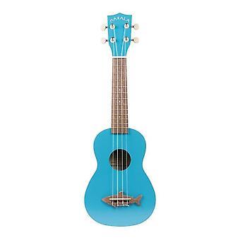 Makala mako blue shark soprano ukulele by kala (mk-ss/blu)