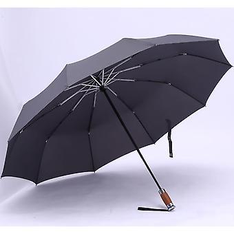 Genuine Brand Large Folding Umbrella Rain 1.2 Meters Business Men Automatic