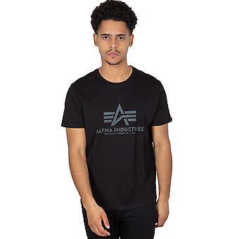 Alpha Industries Men's T-Shirt Basic T Rainbow Ref.