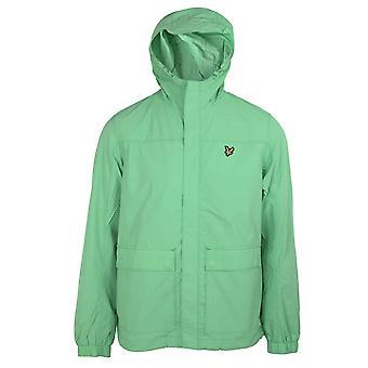 Lyle & scott men's sea mint hooded pocket jacket