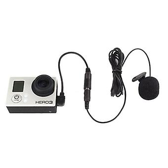 3.5mm Active Clip Microphone With Mini Usb Audio Adapter Mic Cable