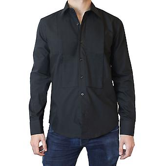 Fitted cup plastron shirt