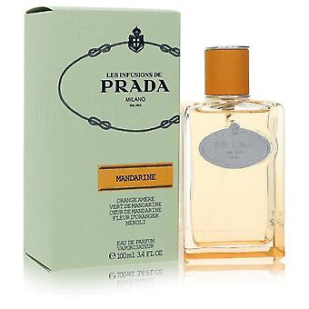 Prada les infusions mandarine eau de parfum spray by prada 555913 100 ml