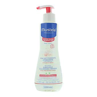 Mustela Sensitive No-Rinse Soothing Cleansing Water 300ml From Birth On