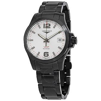 Longines Conquest V.H.P. Quartz Silver Dial Men's Watch L3.716.2.76.6