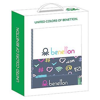 Ensemble cadeau Benetton Dot Com Small Navy Blue