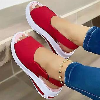 Women Sandals Soft Stitching Ladies Sandals Comfortable Flat Sandals Women Open Toe Beach Shoes Woman Footwear