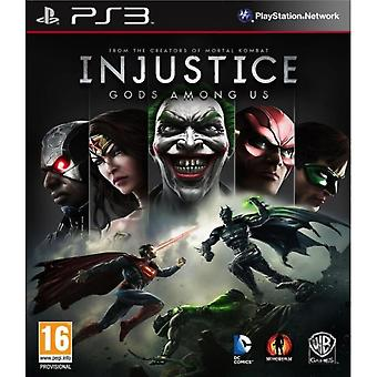 Injustice Gods Among Us Jeu PS3