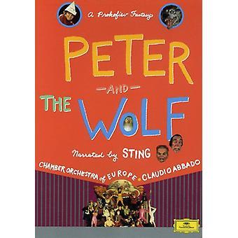 S. Prokofiev - Prokofiev: Peter och vargen [DVD Video] [DVD] USA import