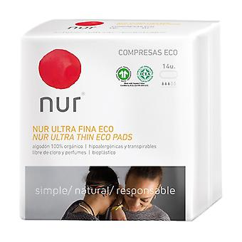 Ecological Ultra-thin Compress 14 units