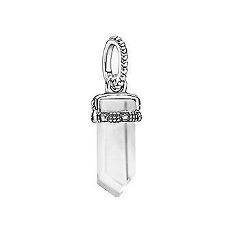 Pandora Colours - Sterling Silver Pendant, Size: 1.75 cm