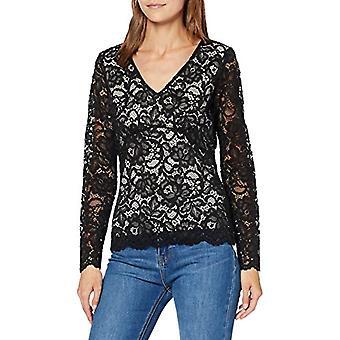 Morgan 192-temy.n T-Shirt, Black (Noir Noir), Large (Size Manufacturer: TL) Woman