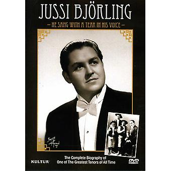 Jussi Bjorling - He Sang with a Tear in His Voice [DVD] USA import