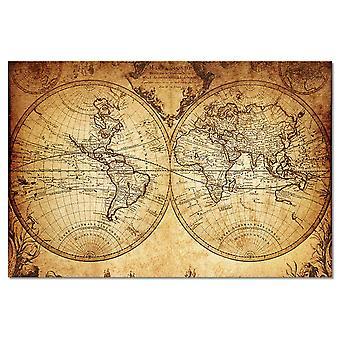 Alte Weltkarte