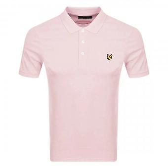 Lyle & Scott Plain Polo Shirt Stonewash Pink SP400VOG