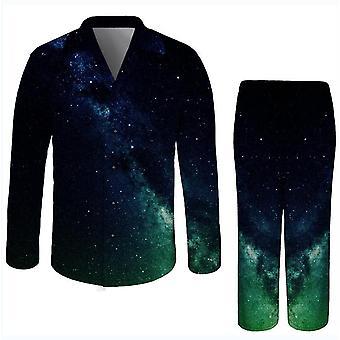 S zelené 3D vytlačené dospelý nočné prádlo romper x2658