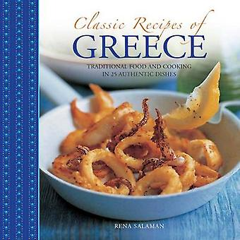 Classic Recipes of Greece by Salaman Rena