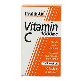 HealthAid Vitamin C 1000mg Kautabletten 30 (801135)