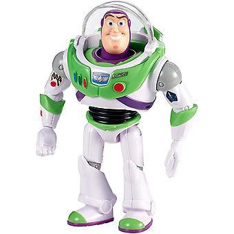 GGX30 - Toy Story 4 Buzz Lightyear mit Schild Actionfigur 17 cm, Spielzeug ab 3 Jahren