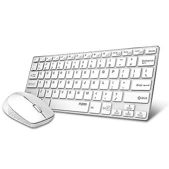 لوحات مفاتيح المجموعات الماوس لوحة المفاتيح اللاسلكية (أبيض)