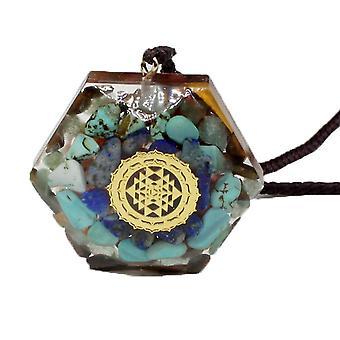 Ciondolo ogan seven chakra pendulum (Colore-10)