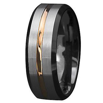 8 мм Мужские обручальные кольца Кольцо Матовое покрытие Серебряные кольца День святого Валентина Подарок на День святого Валентина