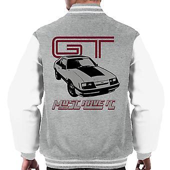Ford GT Täytyy olla Se Miesten Varsity Takki