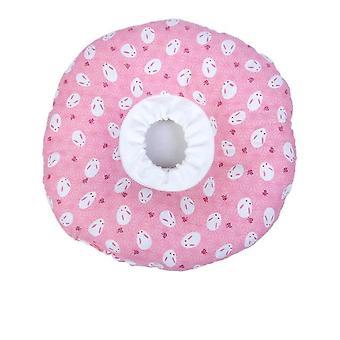 Elizabeth Circle Adjustable Soft Pet E-Collar Neck Collar Circle for Cat Small Dog XS Size