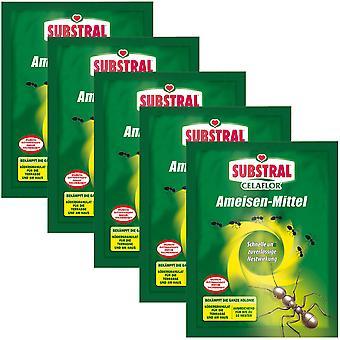 Sparset: 5 x SUBSTRAL® Celaflor® ants, 100 g